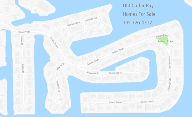 Old Cutler Bay Homes For Sale 305-726-4312
